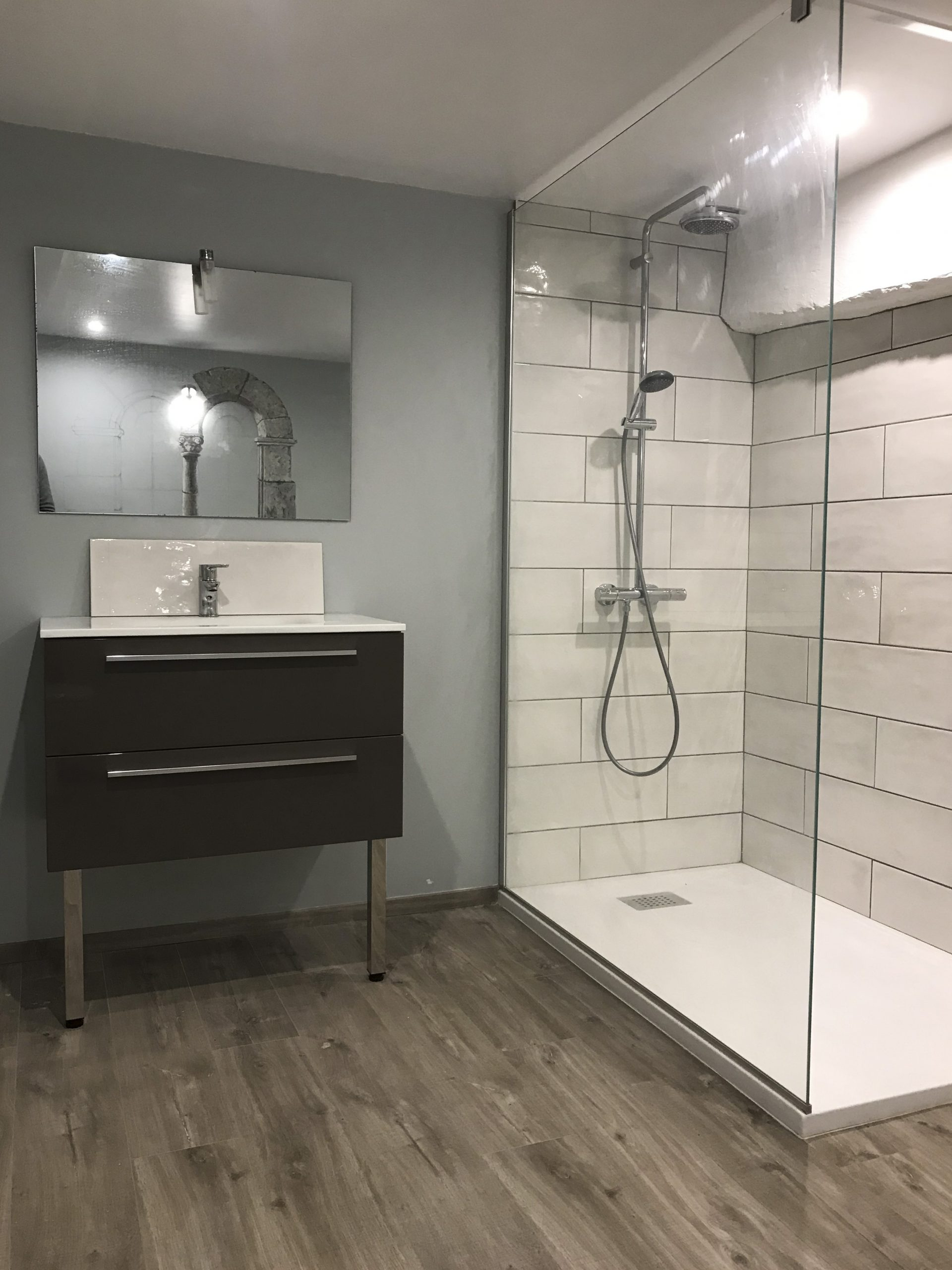 shower, bathroom, builder