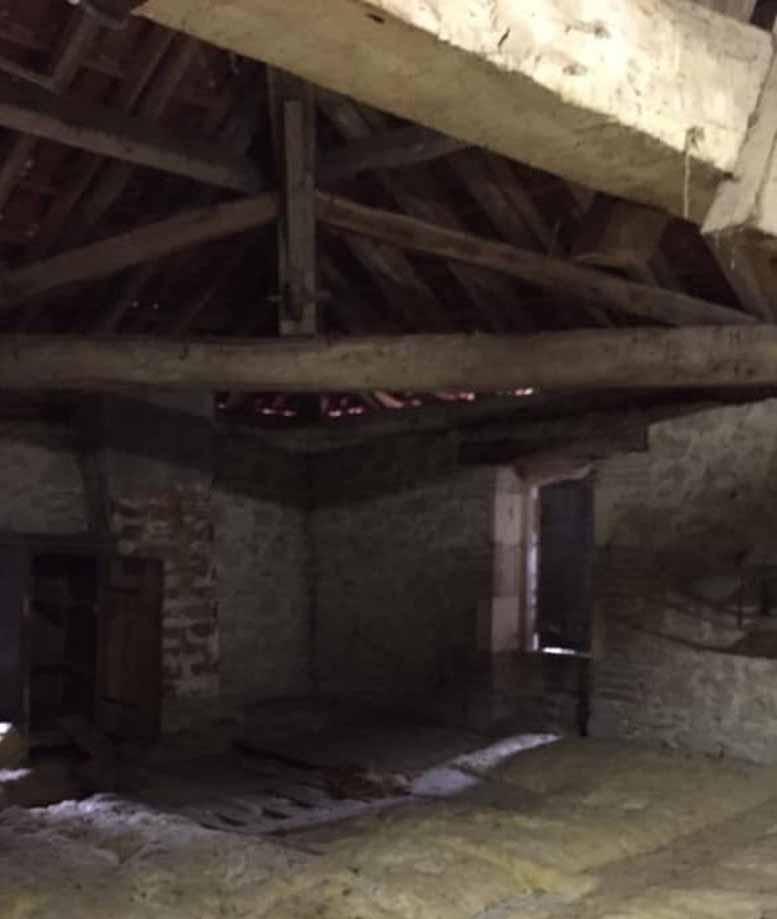 Monbahus, loft conversion, restoration